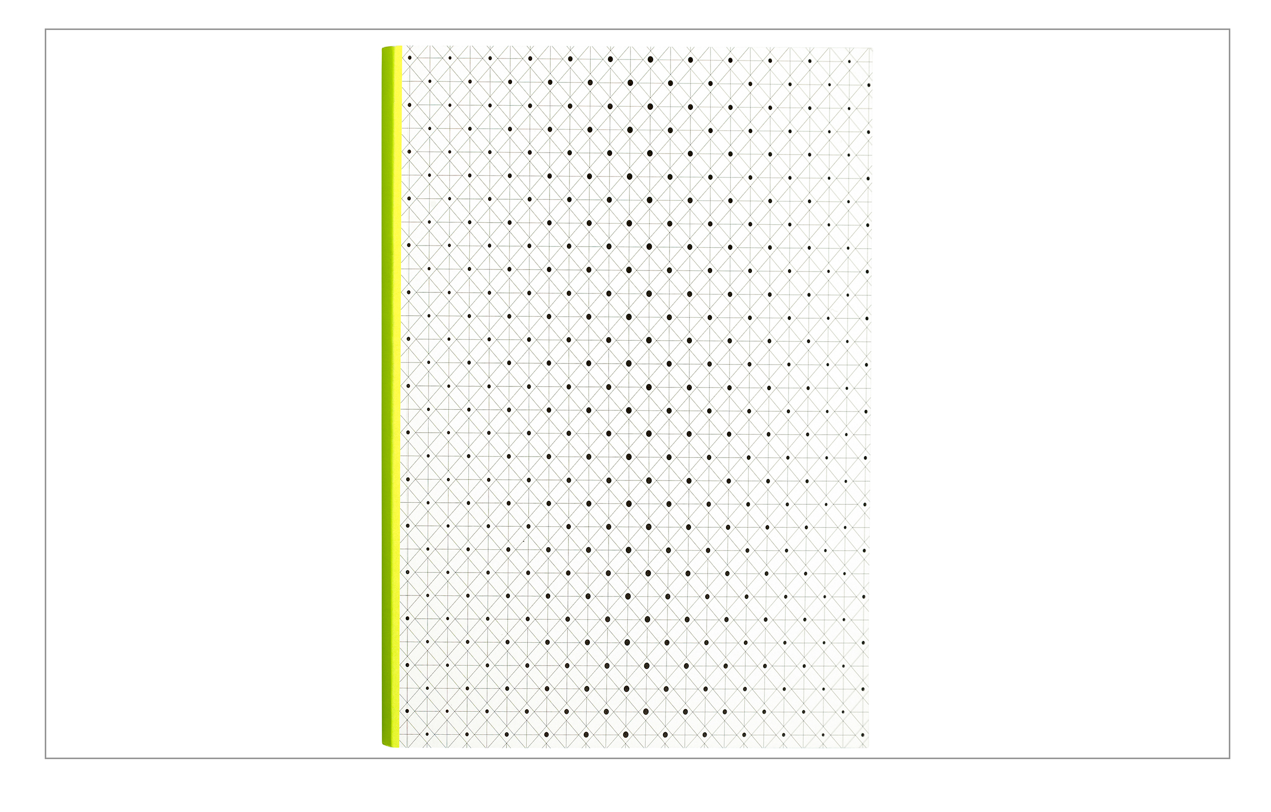 Ink Notebook flouescent yellow