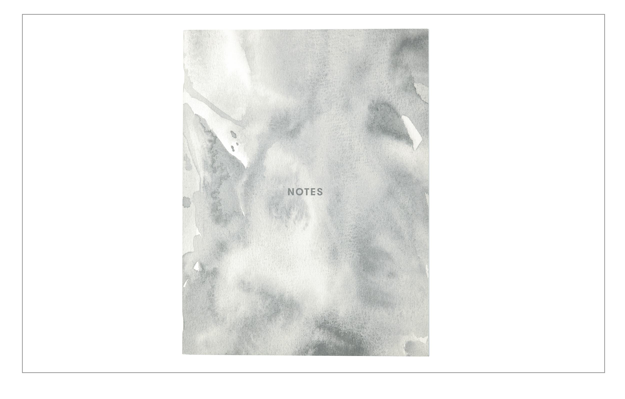 Notes Booklet grey