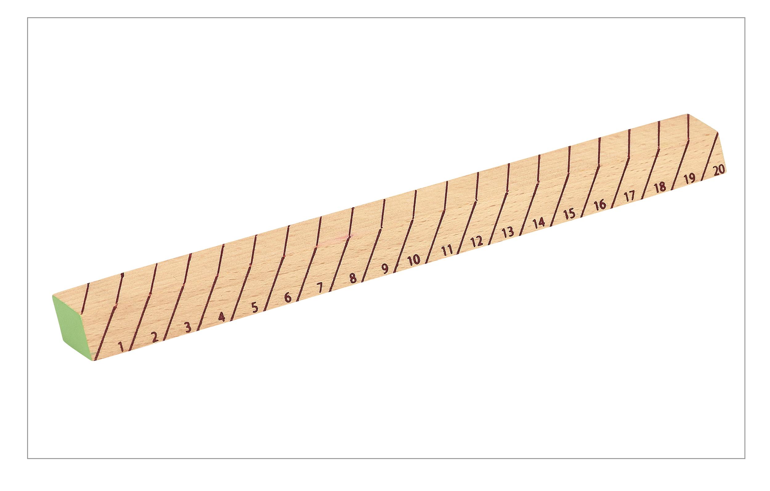 Wooden Ruler 08